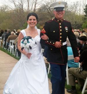 Kelly: Papillion Marine graduates with honors, then says, 'I do'