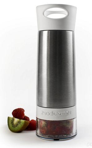 Fruit-infused vodka made easy