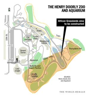 Omaha zoo plans largest project ever, a $70 million outdoor grassland habitat