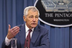 Defense Secretary Chuck Hagel says military's moral fiber remains strong