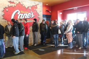 Raising Cane's opens first Omaha location