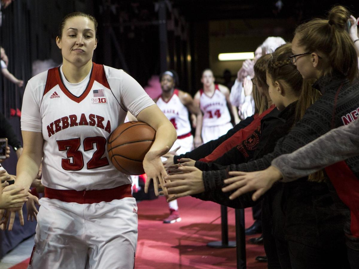 Despite a lack of wins in coach Amy Williams' first season, Jessica Shepard and the Huskers haven't lost hope
