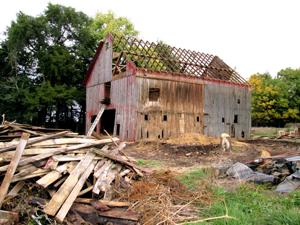 Old barn moving into new brewery