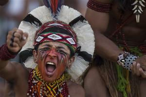 Tribes gather for Brazil's Indigenous Games