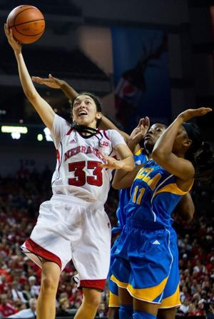 Hooper helps Husker women rout UCLA in opener