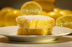 Lemon bars a winter favorite