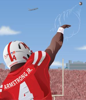 Huskers airing it out with Armstrong