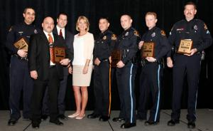 6 detectives involved in Anthony Garcia, Nikko Jenkins cases receive Officer of Year award