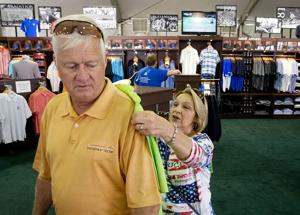 U.S. Senior Open opens for business a day early