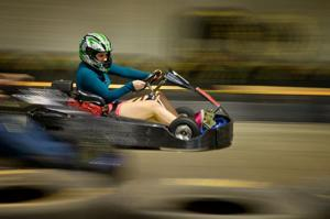 Racers at Joe's Karting feed on speed and adrenaline