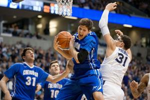 Creighton loses share of lead, must regroup fast for Hoyas