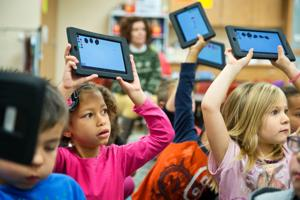 Bluffs students help Google test technology, classes get to keep prototype gizmos