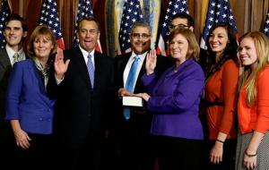 Most diverse Congress ever is sworn in