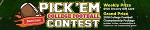 Dorothy Lynch College Football Pickem Contest