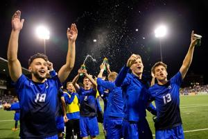 Shatel: Thanks to keen thinking, CU soccer, NU volleyball and UNO hockey all in title position