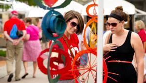 150 vendors strut their stuff at Rockbrook Village Art Fair