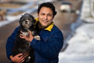 Blind, deaf Shih Tzu rescued from storm sewer