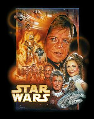 'Star Wars' movie poster: old people version