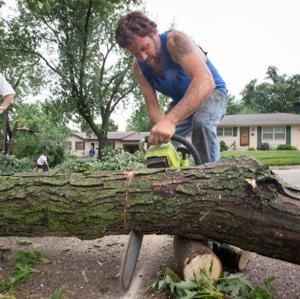 Drop-off of tree debris from storm ends Saturday; all power outages repaired