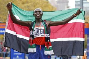 Mutai, Jeptoo of Kenya win titles at NYC Marathon