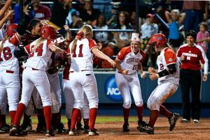 NU's Taylor Edwards named to WCWS all-tourney team