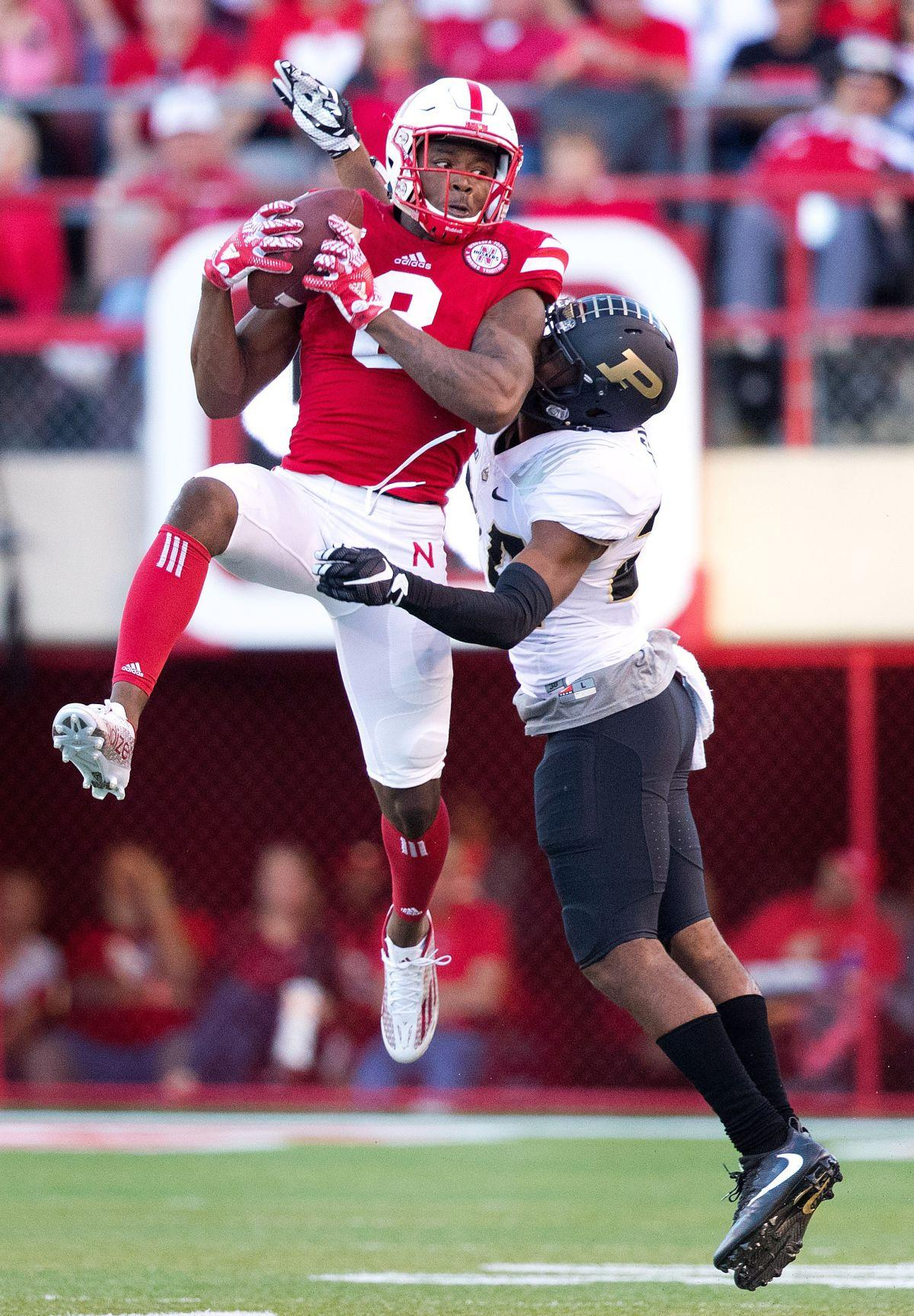 Stanley Morgan Husker Receivers Rise To The Occasion Big Red Today Omaha Com