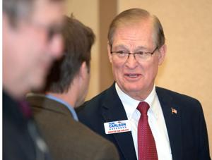 Governor's race: Tom Carlson relies on experience and leadership