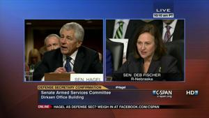 Fischer offers pointed questions for Hagel, namely on nuclear arms