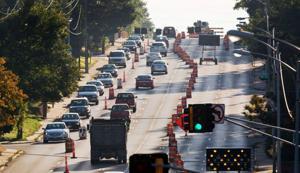 Dodge Street resurfacing is ahead of schedule