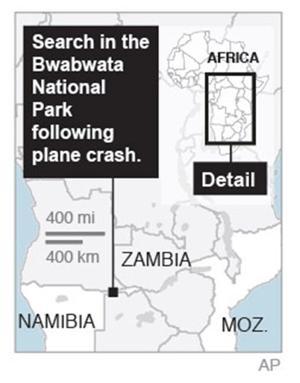 Namibian military transports plane crash victims