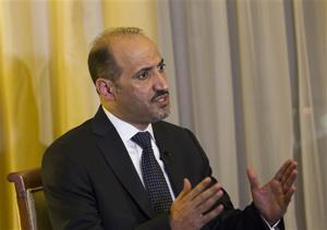 Syria, opposition both confirm presence at talks