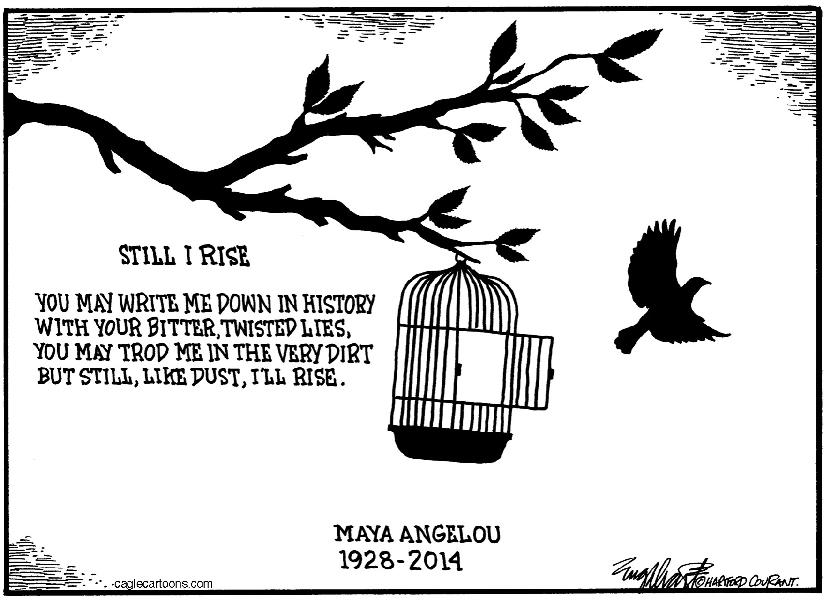 the struggles of maya angelou in i know why the caged birds sings I know why the caged bird sings maya angelou  and birds are vertebrates maya angelou's poem can take another  because even a deep person struggles and.