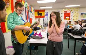 Musical valentines strike a loving chord throughout Millard West