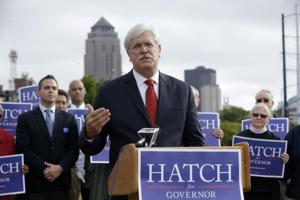 Iowa gubernatorial candidate Jack Hatch wants to raise gas tax