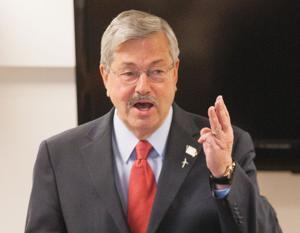 In Missouri Valley visit, Iowa Gov. Branstad trumpets legislative victories