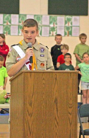 'Nebraska's gift to the world' Arbor Day is celebrated 'tree'-mendously at Thomas Elementary