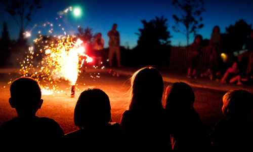 Fireworks can lead to hearing loss in children