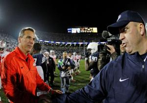 Big Ten Notes: Penn State coach says he didn't take offense to anything Meyer did