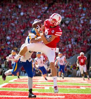 Husker receiver Sam Burtch is all business, and that's fine with Bo