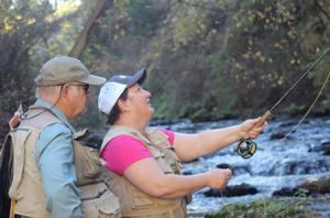 Survivors of breast cancer learn about fly fishing and themselves at free retreat on Snake River
