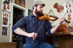 Local craftsmen talk about the art of violin making