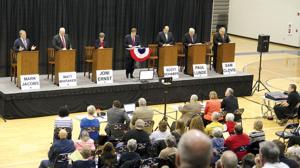 Little disagreement during GOP debate in Council Bluffs