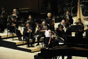 Pianist Condoleezza Rice performs with poise, polish