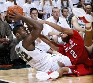 No. 22 Michigan State pulls away from Nebraska late