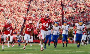 Husker defensive end Gregory envisioning a black shirt, bright future