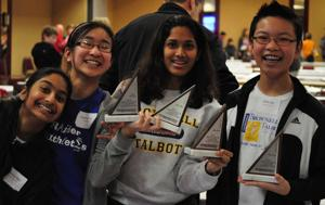 Brownell-Talbot team wins regional MathCounts contest