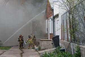 Firefighters contain blaze at Wahoo meat locker