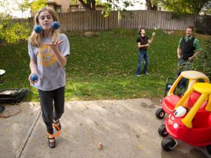 Papillion family does whatever it takes — magic, juggling, balloon animals — to entertain