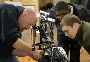 Kelly: Working on motorcycle gives youths new handle on life