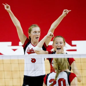 Towering expectations: Can Rolfzen twins be the Huskers' go-to players?